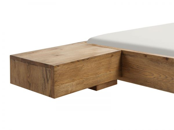 Oak-Wild Vintage Nachttisch Caja, Vintage natur. geölt