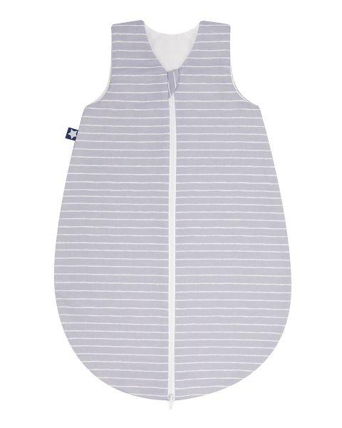 Zöllner Jersey Sommerschlafsack ungefüttert Grey Stripes