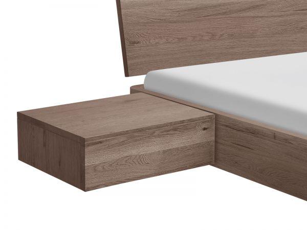Oak-Stone grey Nachttisch Caja
