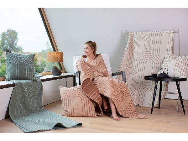 Efeu, Noisette und Rohweiß, Decken nicht im Lieferumfang enthalten