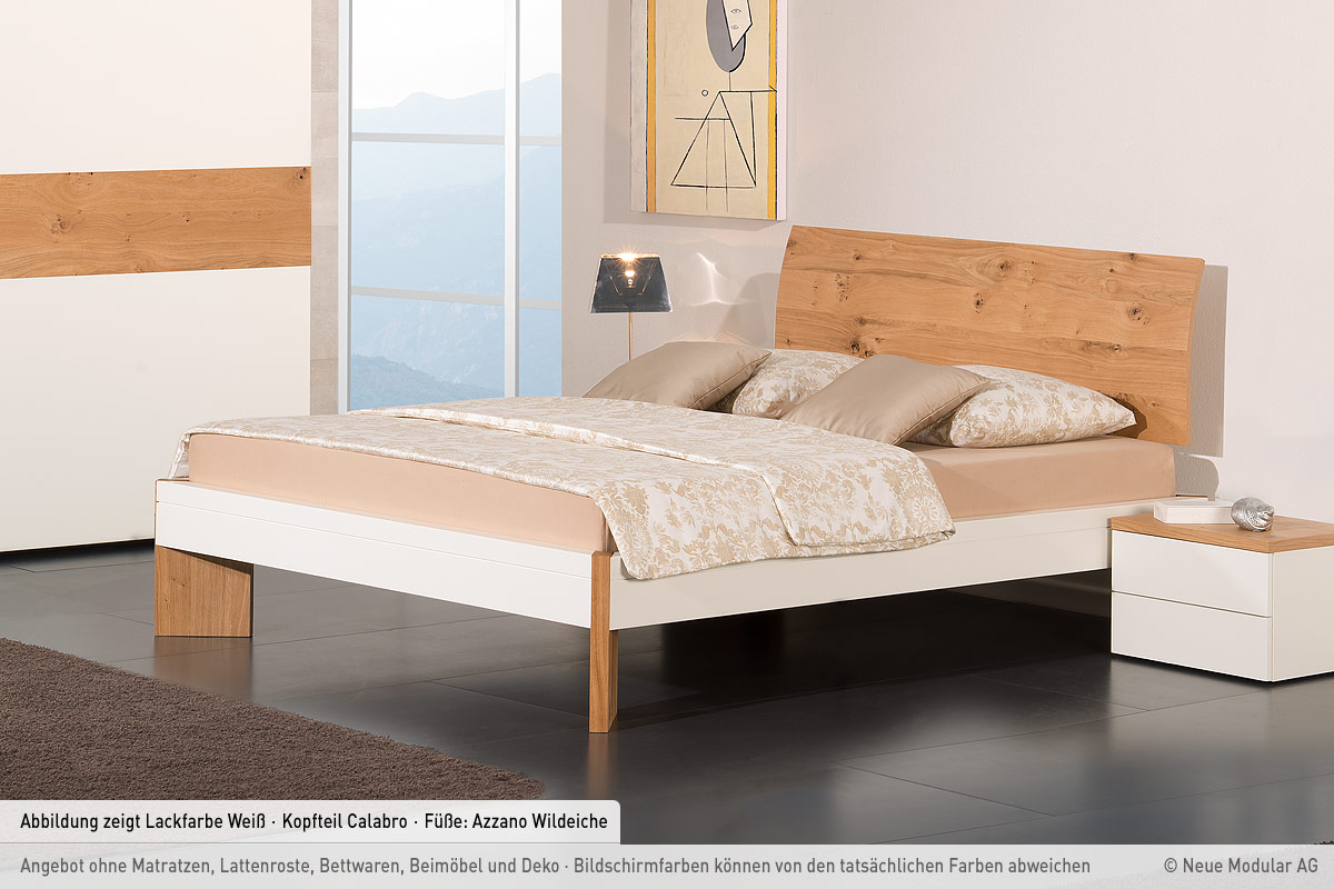modular lackbett salerno calabro betten prinz gmbh. Black Bedroom Furniture Sets. Home Design Ideas