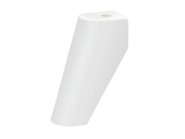 Füße Sima für Kommoden und Nachttische, Buche Weiß deckend, lackiert