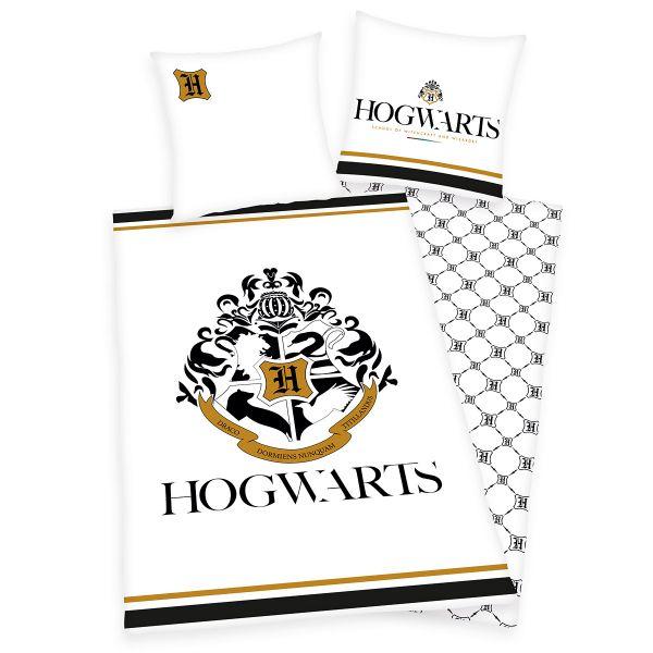 Herding Renforcé Kinder-Wendebettwäsche Harry Potter Hogwarts 135 x 200 cm