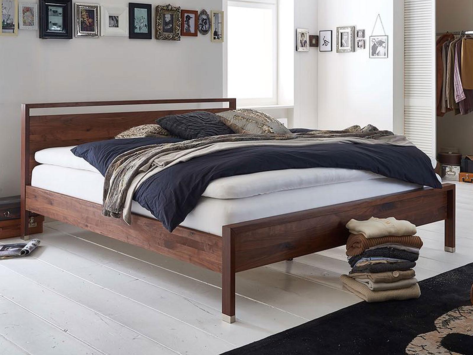 modular massivholzbett tenero plus nussbaum massiv natur ge lt betten prinz gmbh. Black Bedroom Furniture Sets. Home Design Ideas
