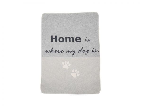 Haustierdecke Home is where my dog is