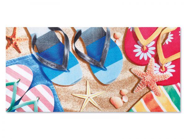 Strandtuch Flip-Flops