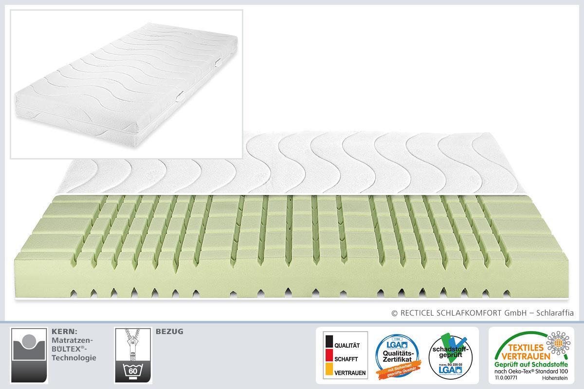 matratzen schlaraffia schlaraffia geltex premium u bild. Black Bedroom Furniture Sets. Home Design Ideas