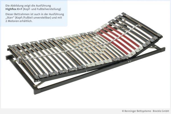 Benninger Bettsysteme Bettrahmen Highflex mit Kopf- und Fußteilverstellung