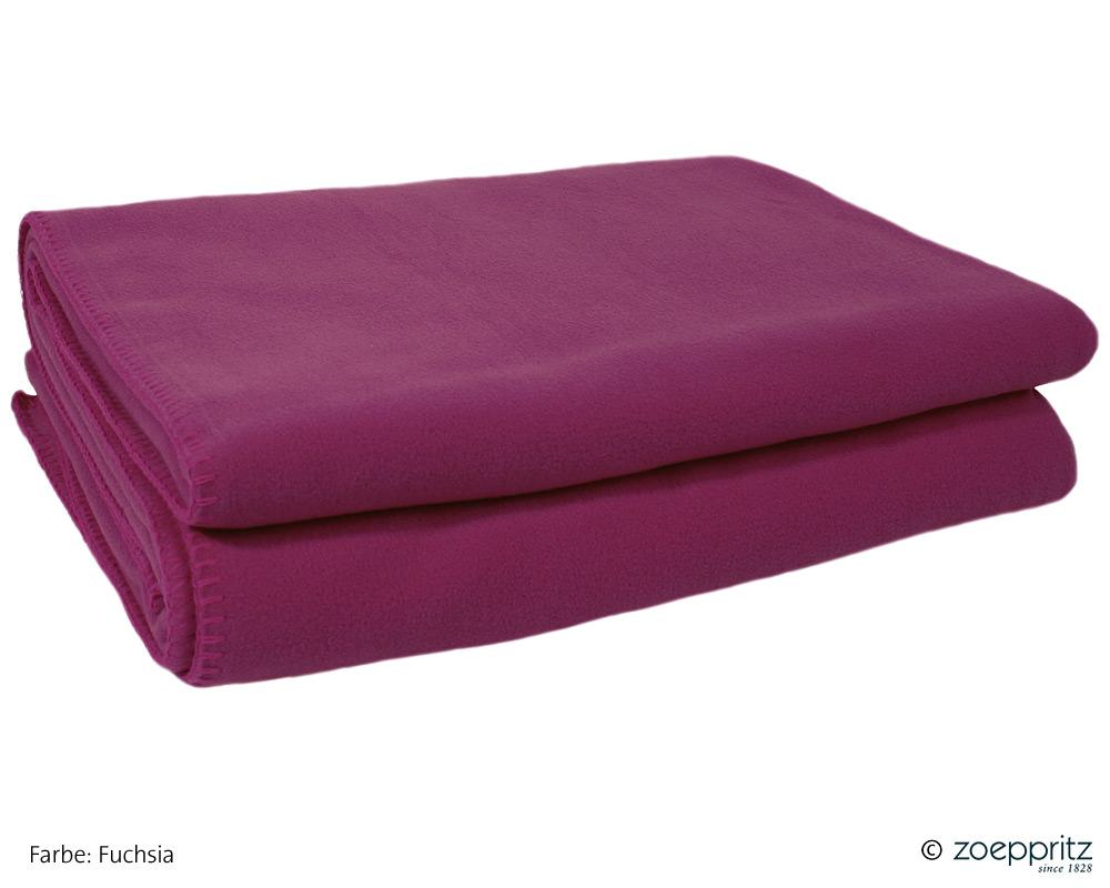 zoeppritz soft fleece wohndecke 103291 betten prinz gmbh. Black Bedroom Furniture Sets. Home Design Ideas