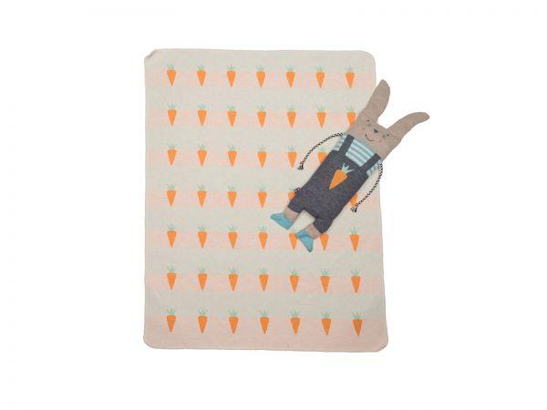 Hasen Puppe mit Decke Juwel 6864