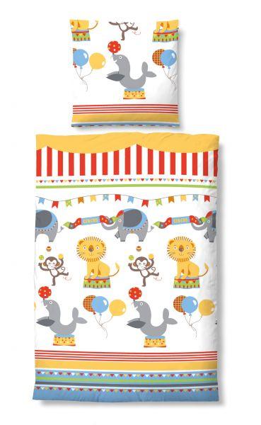 Kinderbettwäsche Zirkus 027227
