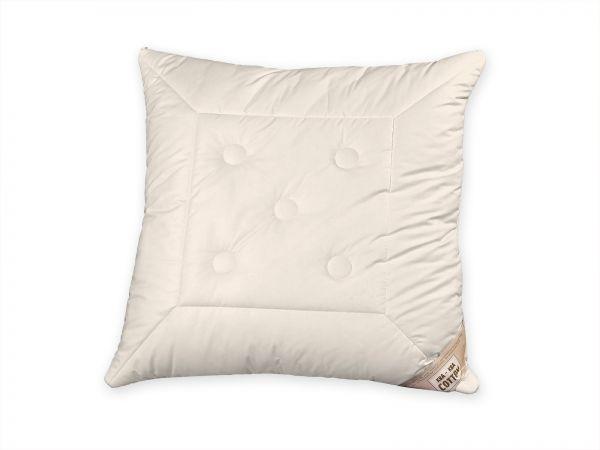 Bio-Kopfkissen Cotton mit Schafwollkugeln, Kissen in Größe 40 x 80 nicht abgebildet