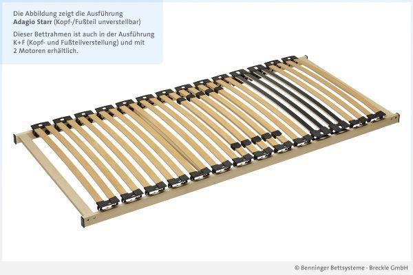 Benninger Bettsysteme Lattenrost Adagio NV