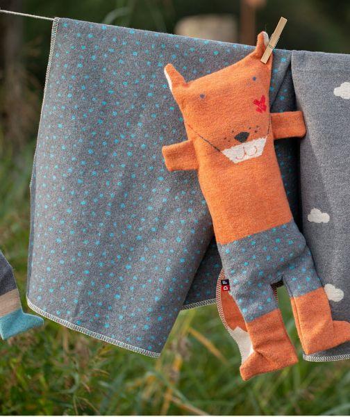 Fuchs Puppe mit Decke Juwel 6733