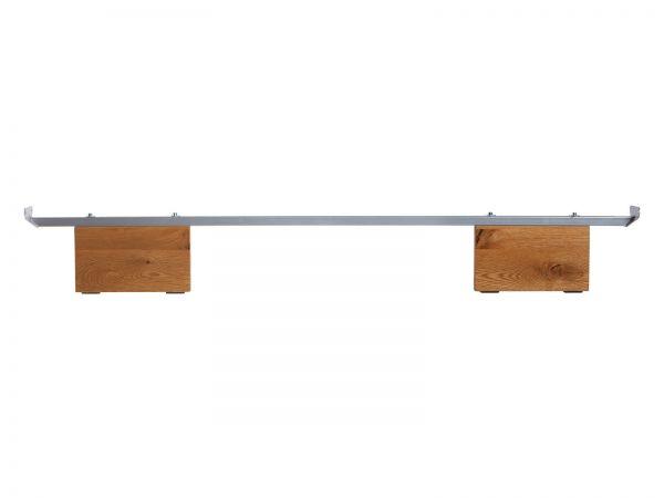 Hasena Oak-Wild Füße Vilo 20 cm, Wildeiche natur, gebürstet, geölt