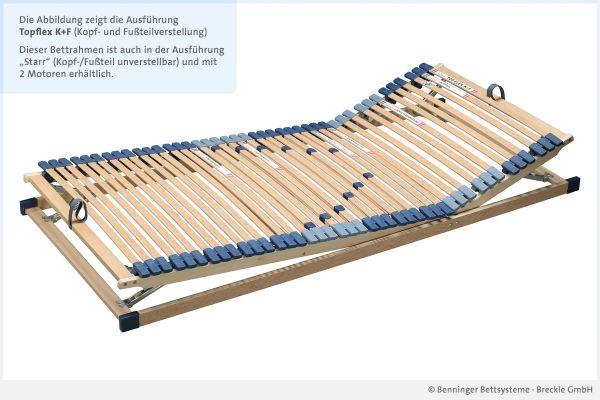 Benninger Bettsysteme Lattenrost Topflex mit Kopf- und Fußteilverstellung