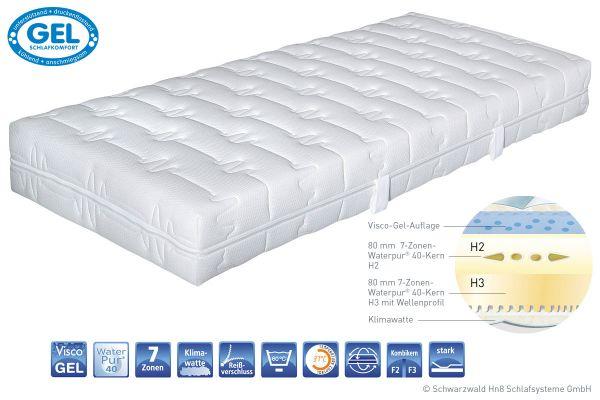 matratze mit gel excellent matratze silvergel osterburg matratzen with matratze mit gel best. Black Bedroom Furniture Sets. Home Design Ideas