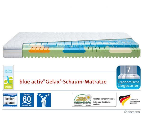 Diamona Komfortschaummatratze Blue Activ G | Betten Prinz GmbH