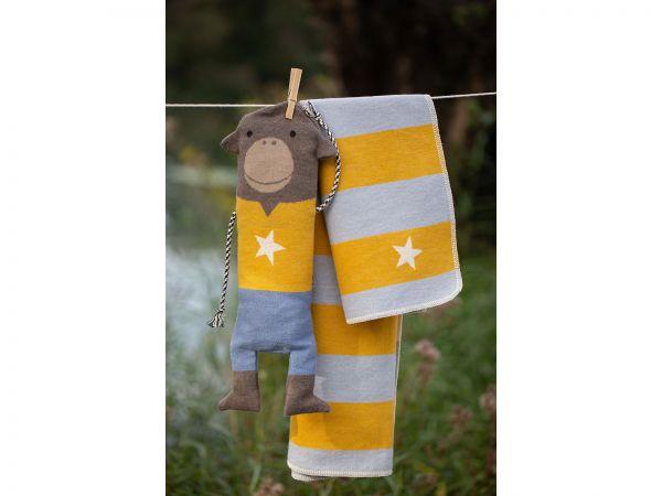 Affen Puppe mit Decke Juwel 7120
