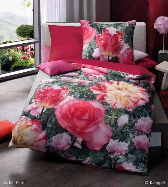 kaeppel mako satin digitaldruck bettw sche garnitur wild. Black Bedroom Furniture Sets. Home Design Ideas
