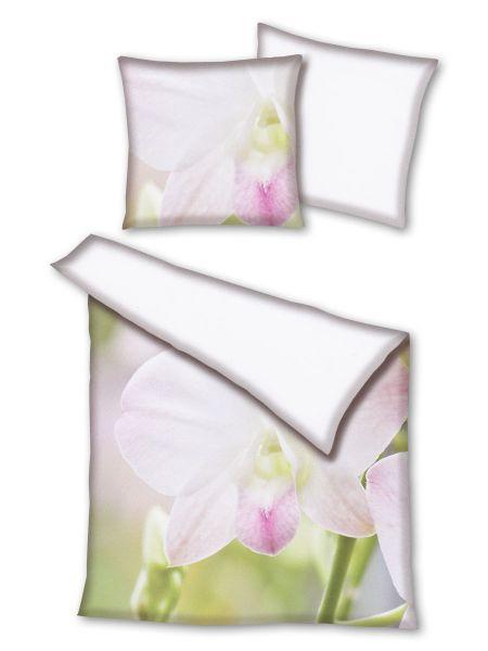 Primera Mako-Satin Wendebettwäsche Orchidee 245003