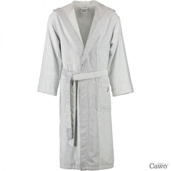 Cawö unisex Bademantel mit Kapuze Sauna 5006
