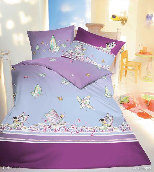 Kaeppel Renforcé Kinderbettwäsche Miss Butterfly 681 005