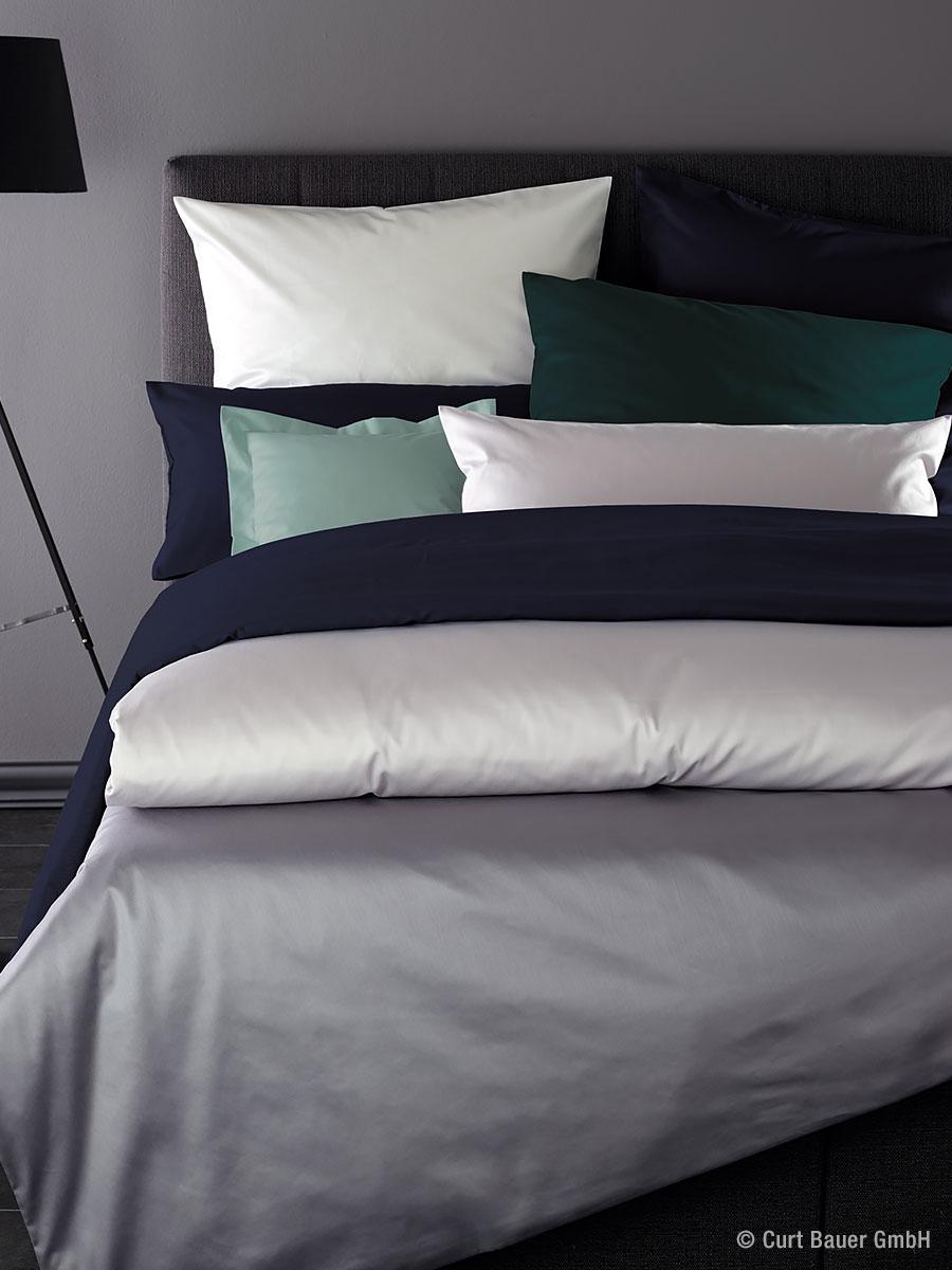 curt bauer uni mako satin bettw sche 0000 betten prinz gmbh. Black Bedroom Furniture Sets. Home Design Ideas