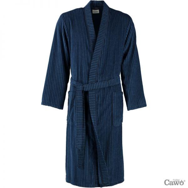 Cawö Herren Bademantel Kimono 6842