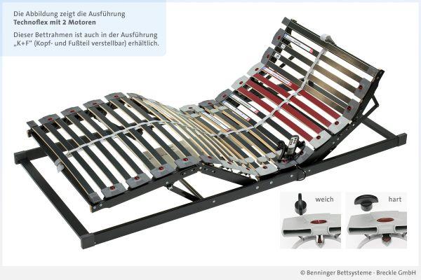 Benninger Bettsysteme Bettrahmen Technoflex mit 2 Motoren