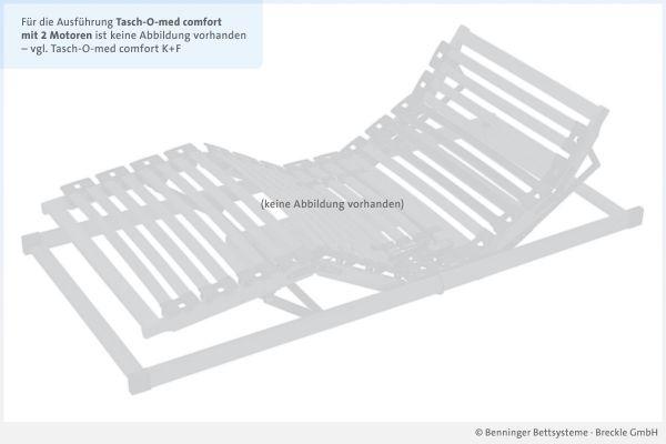 Benninger Bettsysteme Bettrahmen Buche-Vollholzrahmen Tasch-O-med comfort mit 2 Motoren