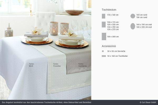 Curt Bauer Damast-Tischwäsche Petito 3815