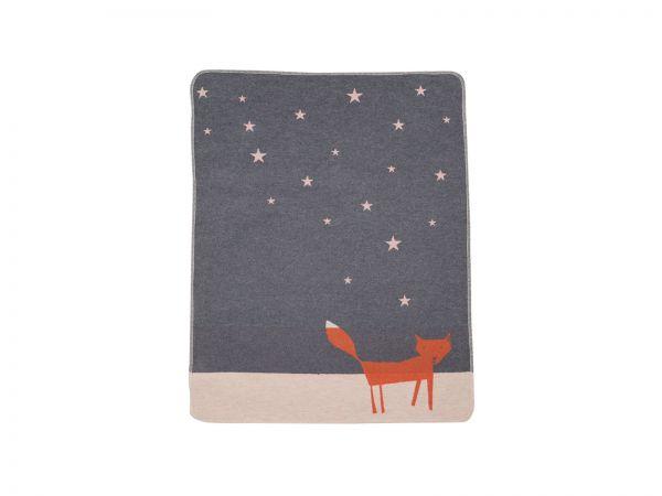 Babydecke Juwel Fuchs unter Sternen 6776