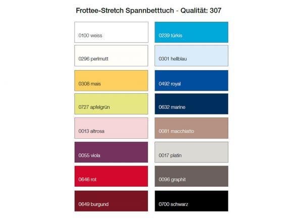 Dormisette Frottee-Stretch-Spannbetttuch Q307