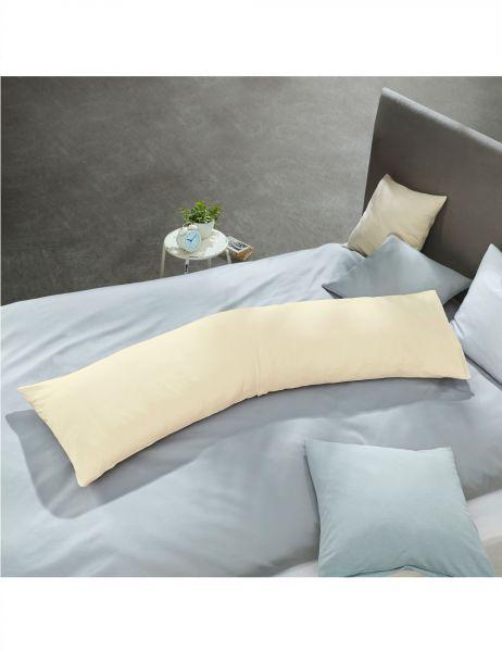 schlafgut Jersey-Elasthan Seitenschläferkissen-Bezug 5015X