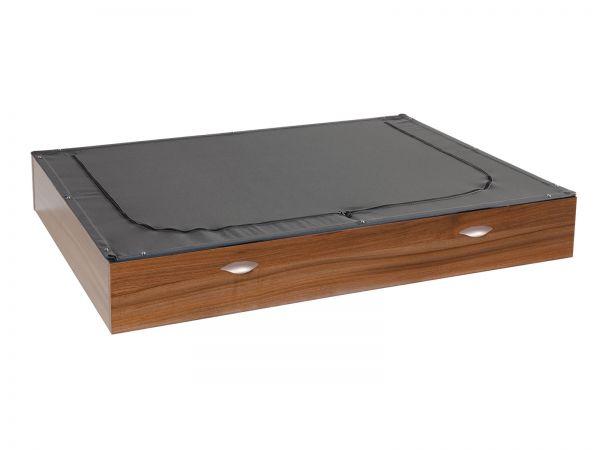 Sacco mit Bettkasten Box, Walnuss (nicht im Lieferumfang enthalten)