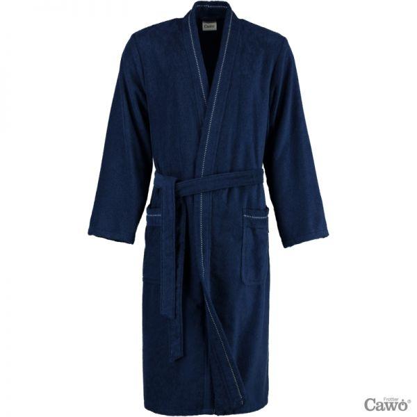 Cawö Herren Bademantel Kimono 4511