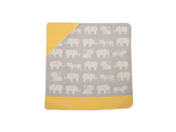 Babydecke mit Kapuze Juwel Zoo 6728