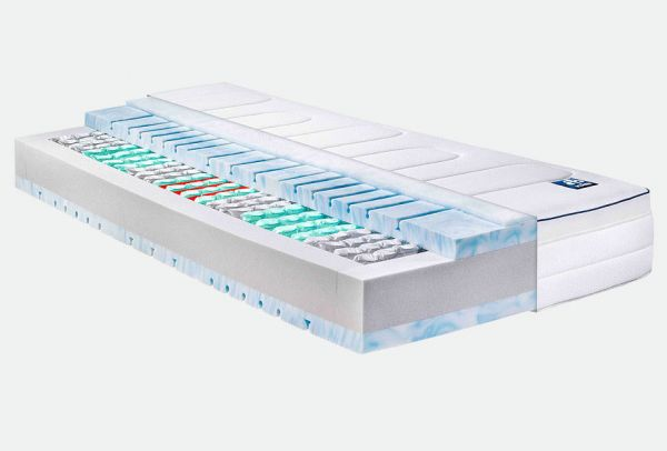 Irisette 7-Zonen Tonnentaschenfederkernmatratze Husum TTFK