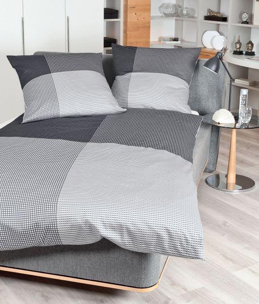 Janine Mako Satin Bettwäsche Modern Art 42035 Betten Prinz Gmbh