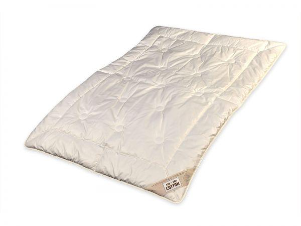 Bio-Duo-Leichtsteppbett Cotton for Kids, Größe 100 x 135 cm