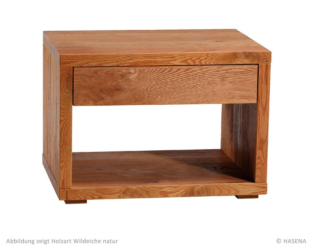 hasena oak line wild nachttisch cubo betten prinz gmbh. Black Bedroom Furniture Sets. Home Design Ideas