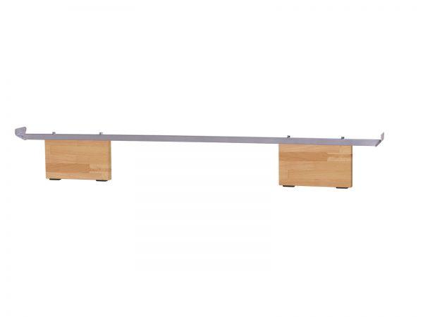 Hasena Wood Line Füße Vilo 20 cm, Buche natur, lackiert
