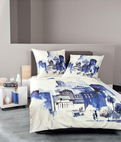 Janine Mako Satin Bettwäsche Modern Art 42025 Betten Prinz Gmbh