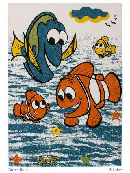 Lalee-Home-Collection-Kinderteppich-Amigo-Dessin-319-Fish