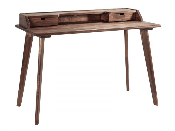 Moderno Schreibtisch Aska, Nussbaum, geölt