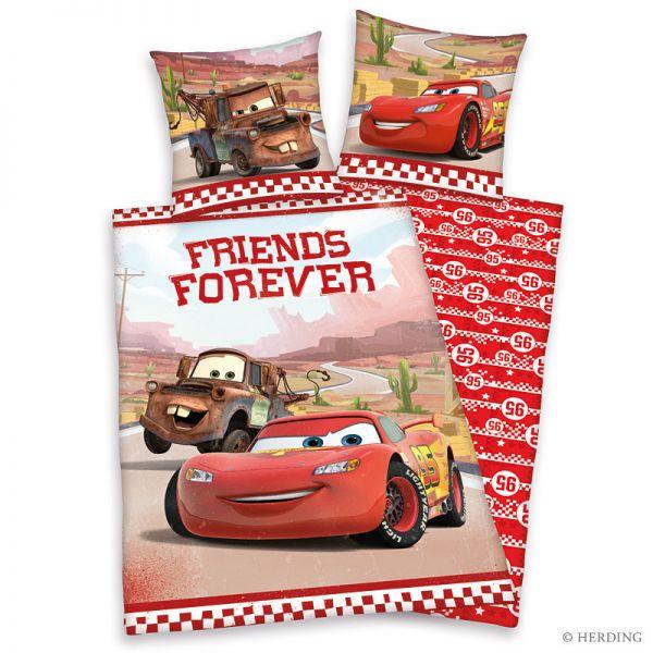 herding renforc kinderbettw sche cars forever friends 135. Black Bedroom Furniture Sets. Home Design Ideas