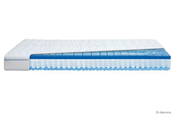 Diamona 7-Zonen Taschenfederkernmatratze blue activ GTI