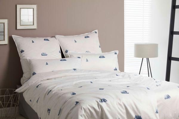 Elegante Comfort-Satin Bettwäsche Sailor 2228
