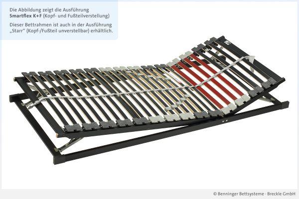 Benninger Bettsysteme Bettrahmen Smartflex mit Kopf- und Fußteilverstellung